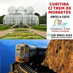 CURITIBA E MORRETES 09 A 12 DE DEZEMBRO