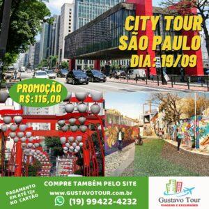 CITY TOUR SÃO PAULO 19/09/2021