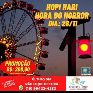 HOPI HARI HORA DO HORROR  28/11/2021