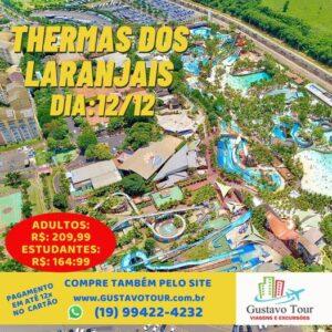 THERMAS DOS LARANJAIS 12/12/2021